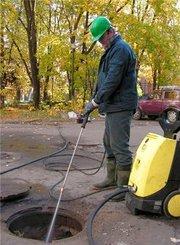 Промывка труб канализации в Омске,  т.33-79-97