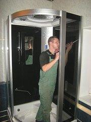 Сборка,  установка и подключение душевой кабины в Омске