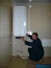 Подключение и установка водонагревателя в Омске,  т.33-79-97.
