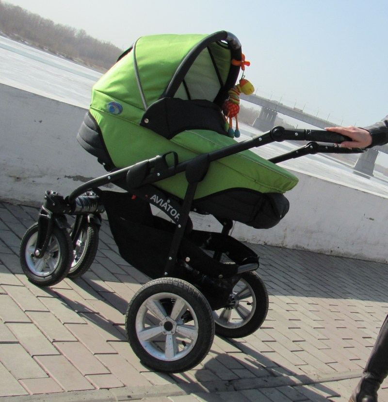 коляска авиатор 2 в 1 фото