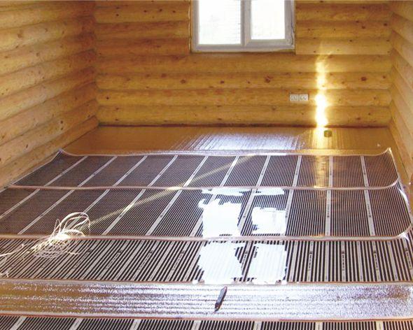 Идеален вариант использования теплого пленочного пола в деревянных домах, поскольку термопленка не сушит воздух и не...