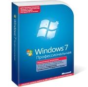 Лицензионная Windows 7 PRO DVD BOX RUS