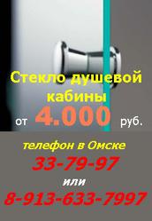 Продажа стекла,  двери,  панели душевой кабины в Омске,  т.33-79-97.
