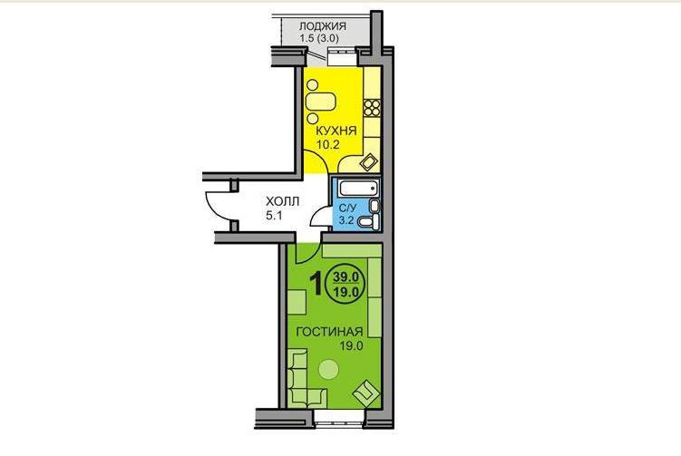 Ясная поляна чебоксары планировка квартир