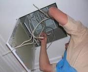 Электромонтажные работы на дому и в офисе в Омске
