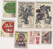 Чехословацкие марки