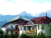 летний отдых на озере Иссык-Куль,  в отеле Восторг,  Киргизия.