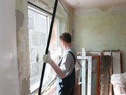 Замена стекла,  замена стекол в дверях и окнах в Омске