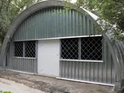 Продам Бескаркасный,  арочный,  разборный ангар со склада в Омске. mbkangar.ru
