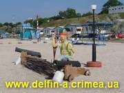 Семейный отдых в Крыму.  Отдых с детьми не дорого без посредников.