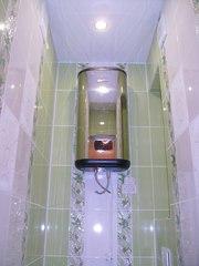 Установка (подключение) водонагревателя (замена,  монтаж)