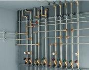 Разводка труб (отопления,  водоснабжения,  канализации)