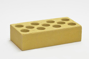 Кирпич Желтый силикатный