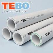 Полипропиленовые трубы Tebo D20-40 ст. 3, 4-6, 7 (от 10 т.р,  доставка)