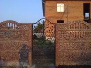 Элитные еврозаборы,  тротуарная плитка,  фасадный камень