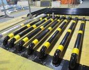 Колесоотбойники резиновые и металлические (делиниаторы)