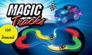 Magic Track - Гнущийся и светящийся гоночный трек.