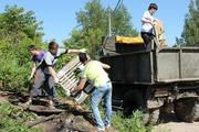 Вывоз строительного мусора в омске. Вывоз веток с дачи