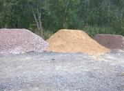 Песок строительный,  асфальтная крошка,  опилки